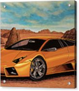 Lamborghini Reventon 2007 Painting Acrylic Print