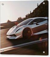 Lamborghini Sesto Elemento - 12 Acrylic Print