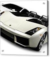 Lamborghini Super Cars Acrylic Print