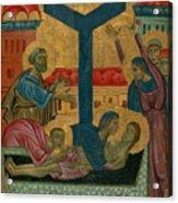 Lamentation Of The Dead Christ Acrylic Print