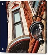 Lamp And Building Details  Acrylic Print