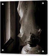 Lamp By The Window Acrylic Print