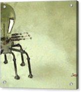 Lampbot Acrylic Print