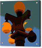 Lamppost Acrylic Print