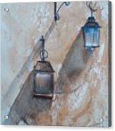 Lamps Acrylic Print