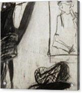 Lampshade Drama Acrylic Print