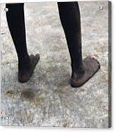 Lamu Feet Acrylic Print