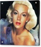 Lana Turner, Hollywood Legend Acrylic Print