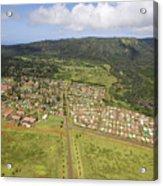 Lanai City Aerial Acrylic Print