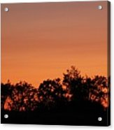 Lancaster County Sunset Acrylic Print