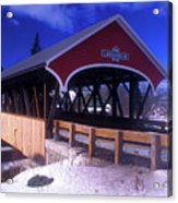 Lancaster Covered Bridge Acrylic Print