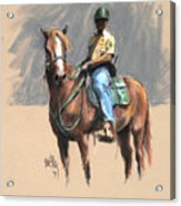 Lance With National Park Service Volunteer Aboard Acrylic Print