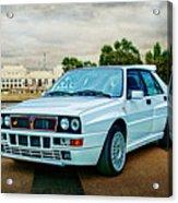Lancia Delta Hf Integrale Evoluzione Acrylic Print