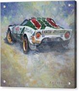 Lancia Stratos 1976 Rallye Sanremo Acrylic Print