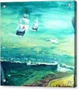 Land Ahoy Acrylic Print