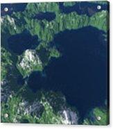 Land Of A Thousand Lakes Acrylic Print