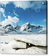 Land Of Ice And Snow Acrylic Print
