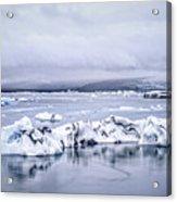 Land Of Ice Acrylic Print