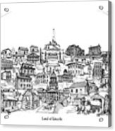 Land Of Lincoln Acrylic Print