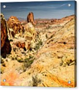 Land Of Sandstones Valley Of Fire Acrylic Print