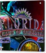 Land Of Sunshine Acrylic Print