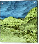 Land Of Turmoil Acrylic Print