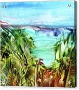 Land Sea And Sky Acrylic Print