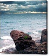 Land Water Sky Acrylic Print