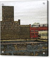 Landauer And Co Dry Goods Acrylic Print