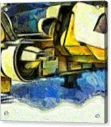 Landed Imperial Shuttle - Da Acrylic Print