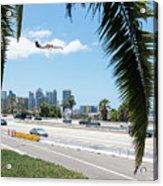 Landing In San Diego Acrylic Print