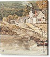 Landing Place Near Tintern Abbey Acrylic Print