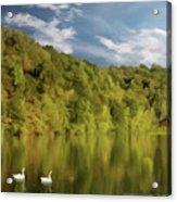 Landingville Lake Pennsylvania Acrylic Print