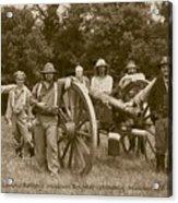 Landis Battery Missouri Brigade Acrylic Print