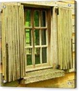 Landis Valley Window Acrylic Print