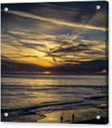 Lands End Sun Set  Acrylic Print