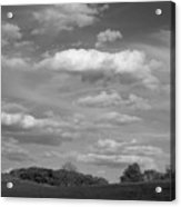 Landscape And Clouds Acrylic Print