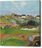Landscape At Le Pouldu Acrylic Print