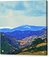 Landscape From Virginia Dale Acrylic Print