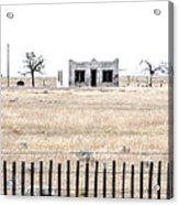 Landscape Galisteo Nm H10x Acrylic Print