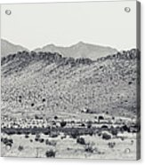 Landscape Galisteo Nm I10p Acrylic Print