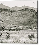 Landscape Galisteo Nm I10v Acrylic Print