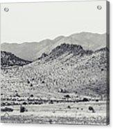 Landscape Galisteo Nm J10a Acrylic Print