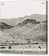 Landscape Galisteo Nm J10b Acrylic Print