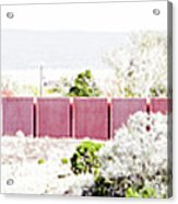 Landscape Galisteo Nm J10l Acrylic Print