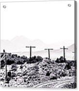 Landscape Galisteo Nm J10u Acrylic Print