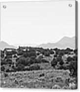 Landscape Galisteo Nm K10i Acrylic Print