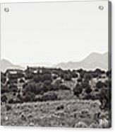 Landscape Galisteo Nm K10k Acrylic Print