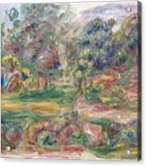 Landscape Near Cagnes Acrylic Print