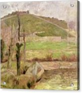 Landscape Near Pont Aven Acrylic Print